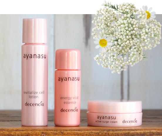 敏感肌専門スキンケア「アヤナス」で、敏感肌はもっときれいになる。