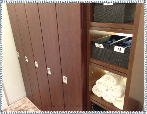 ダンディハウス名古屋のフィッティングルーム