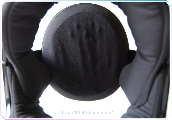 iD3Xの頭頂部