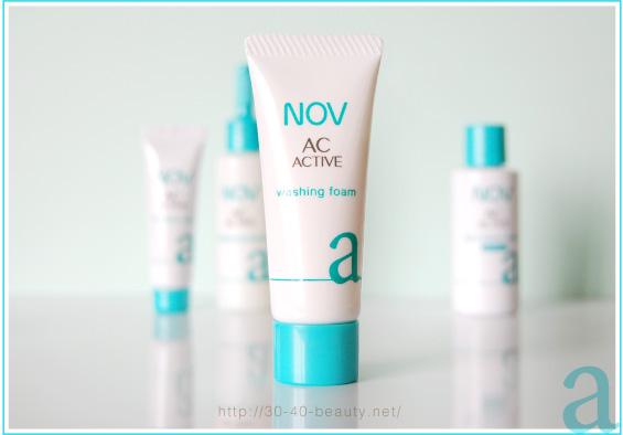 ノブACアクティブの洗顔料