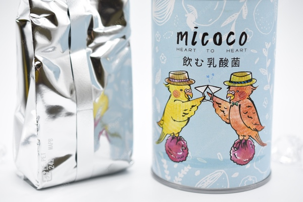 micoco飲む乳酸菌は袋で小分け