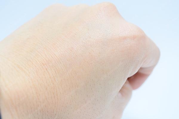 MONOVOオールインワンジェル使用後の肌