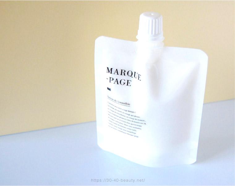 マルクパージュ洗顔サボンドスムージー